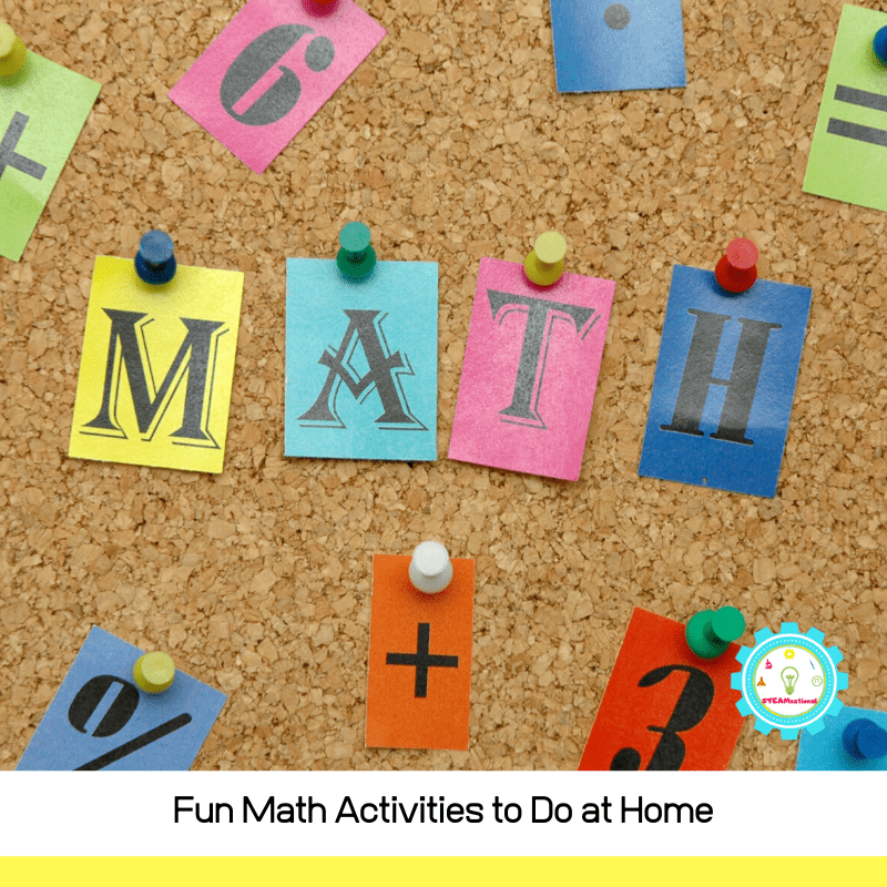 Fun Hands On At Home Math Activities And Games