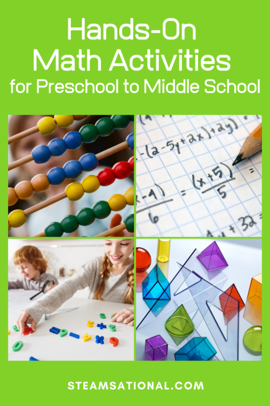 math projects for kids
