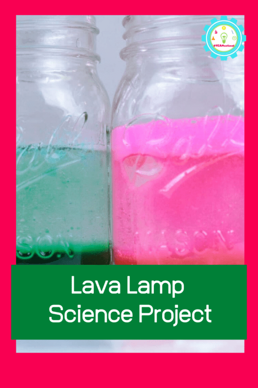 science project lava lamp