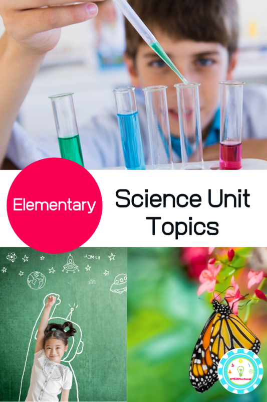 science themes for kids