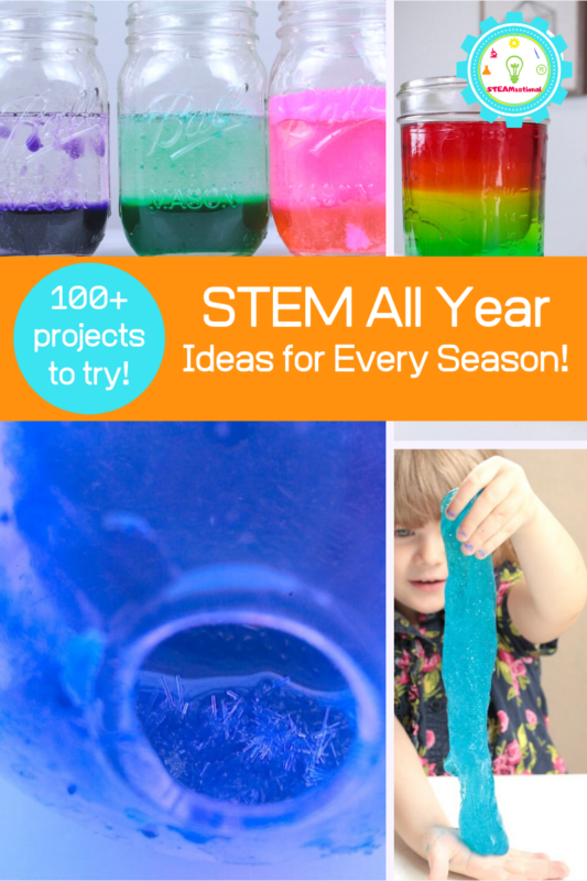 These STEM activities are the perfect STEM enrichment activities for kids and include hundreds of STEM activities for kids! STEM challenges FTW!