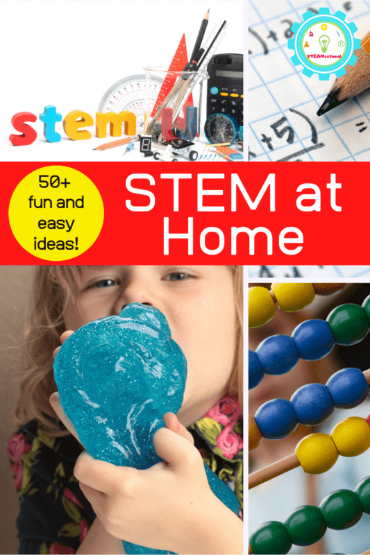 stem activities to do at home