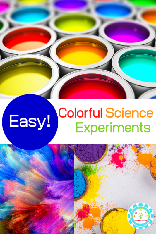 Is there anything more fun than colorful science experiments for kids? We don't think so! That's why we do so many science experiments with food coloring!
