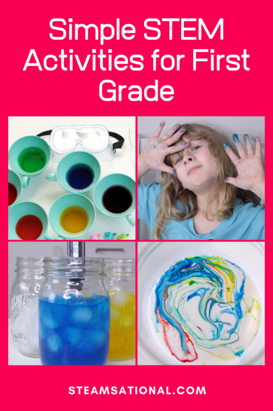 easy 1st grade stem projects