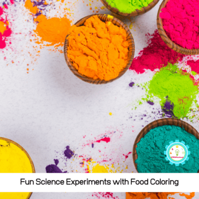 Easy Science Experiments with Food Coloring