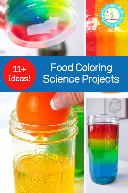 food coloring science projects