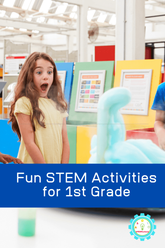 Looking for first grade STEM activities? These STEM activities for 1st grade are the perfect place to find first grade STEM lesson plans that you can use in the classroom or at home!