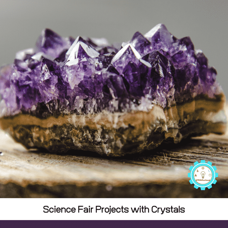 These crystal science fair projects will spark many ideas for crystal science experiments!