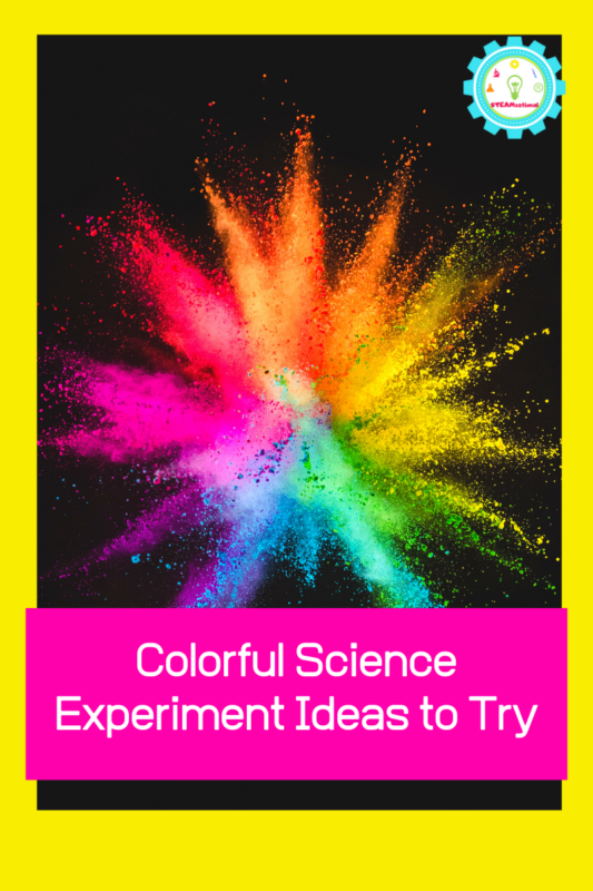 science experiments with food coloring