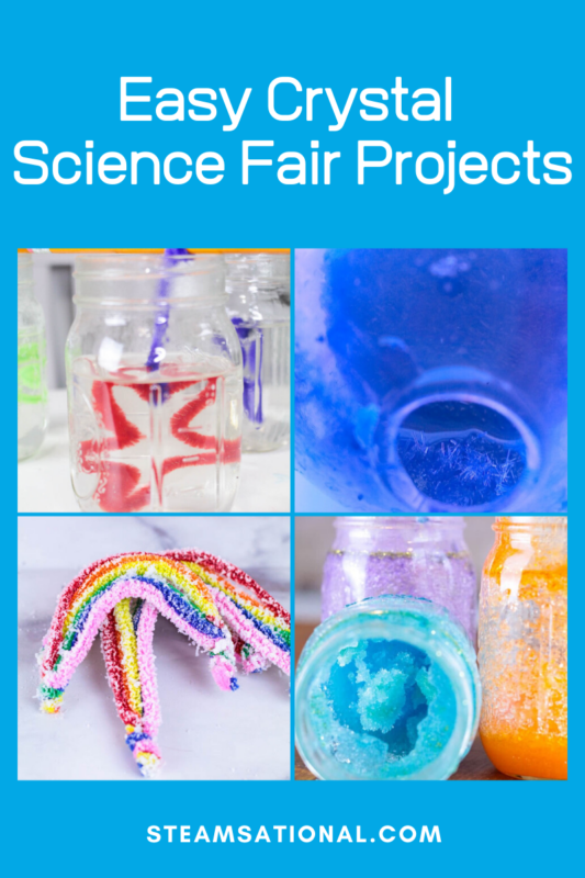 science fair projects with crystals