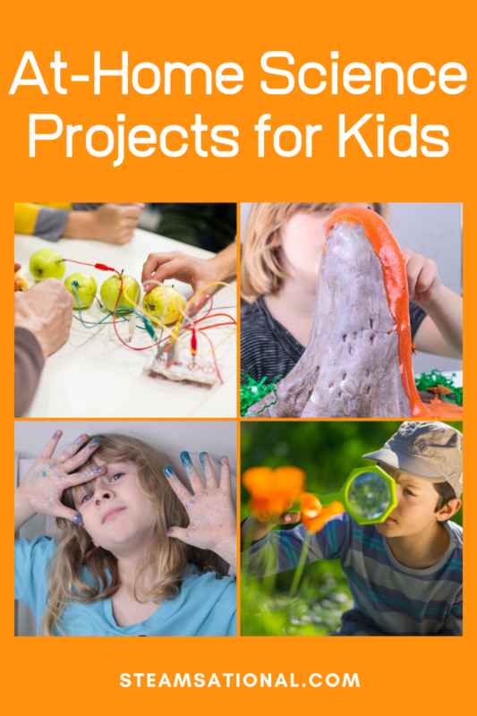 If you're looking for hands-on science projects (and we're always a fan of that!), then you'll love this list of science projects for kids at home.