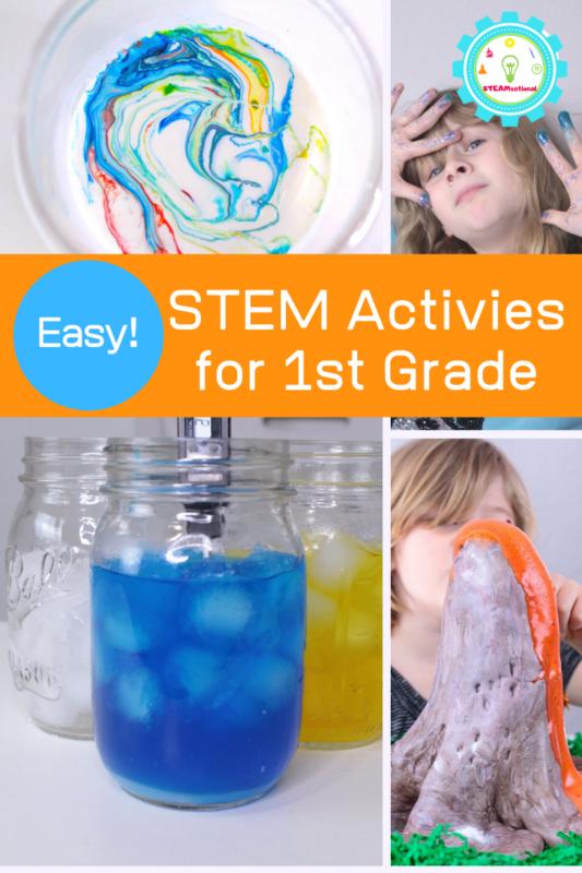 stem activities for first grade