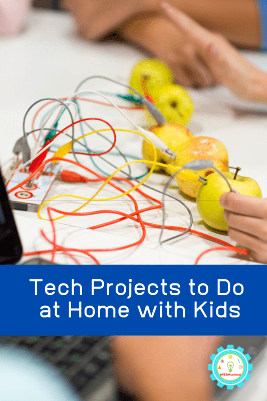 Keep reading to find a list of tech projects to try at home that will keep your kids off screens and learning until they are able to return to school.