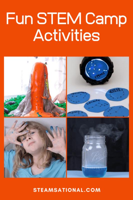 Fun STEM Camp Activities