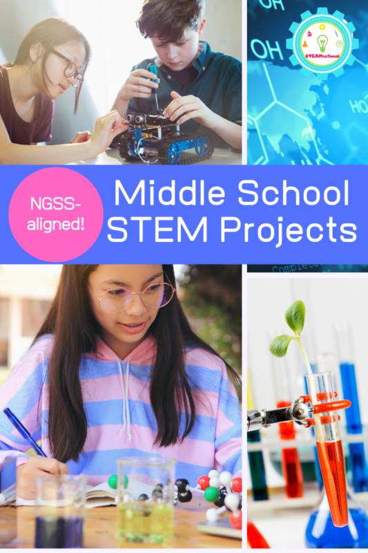 Looking for NGSS middle school lesson plans? These NGSS lesson plans for middle school are hands-on, educational, and fun!