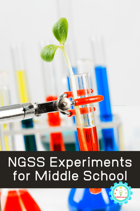 NGSS Experiments for Middle School