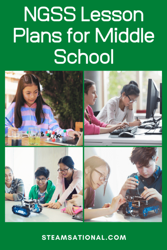 NGSS Lesson Plans for Middle School