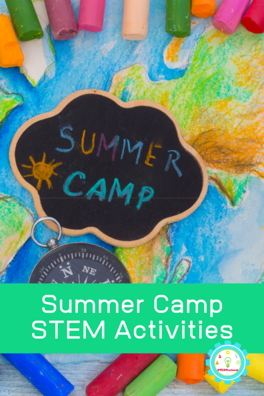 Try these summer STEM activities at home! Make learning fun through the summer with these fun summer STEAM projects. Super fun STEM camp activities!
