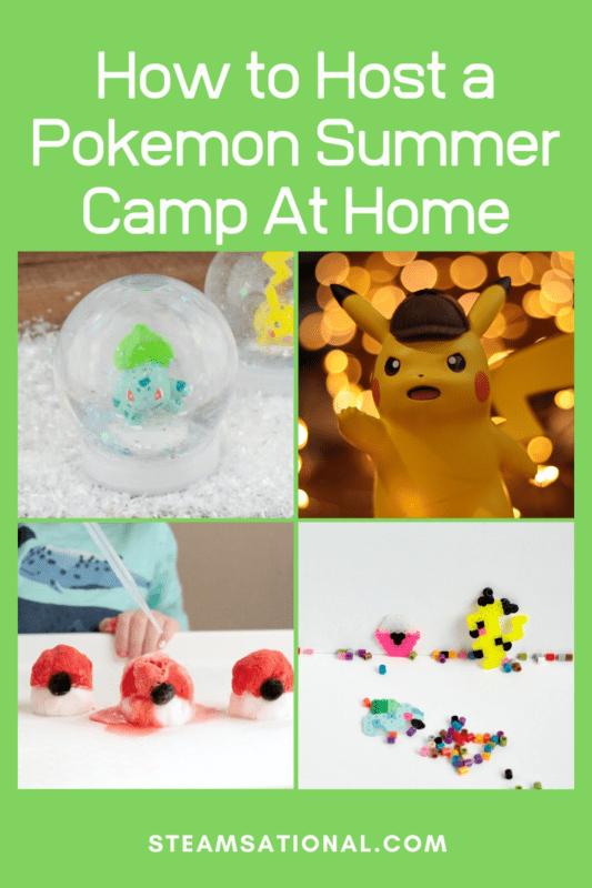 pokemon camp ideas