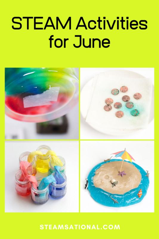stem activities for june