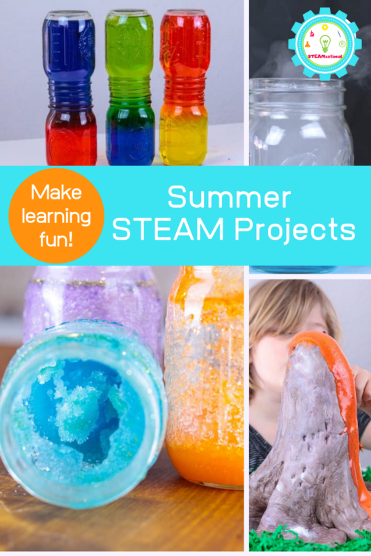 summer steam projects