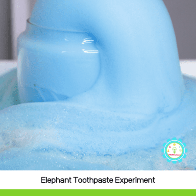 Elephant Toothpaste Explosion Experiment