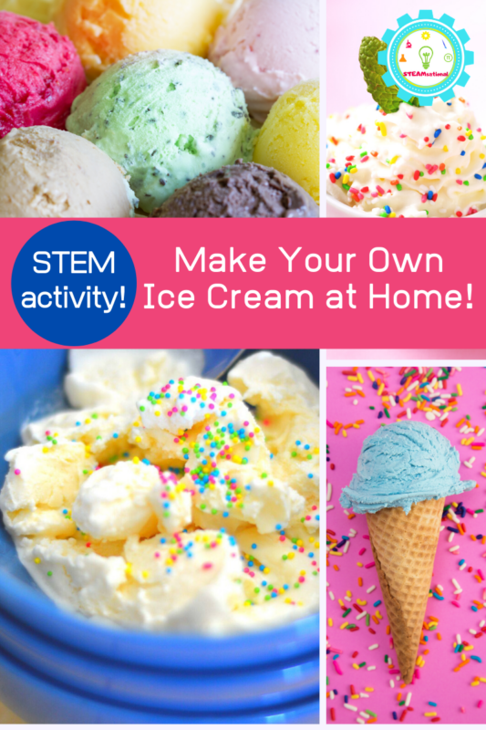 ice cream stem activity