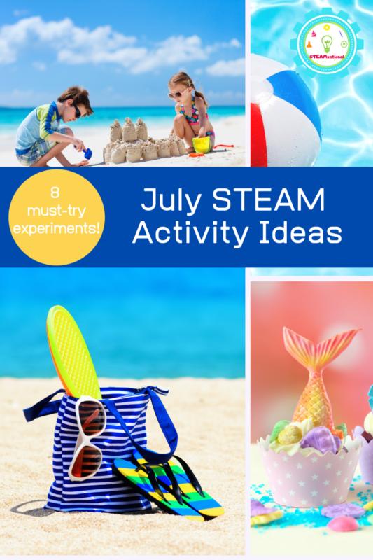 july activities for kids