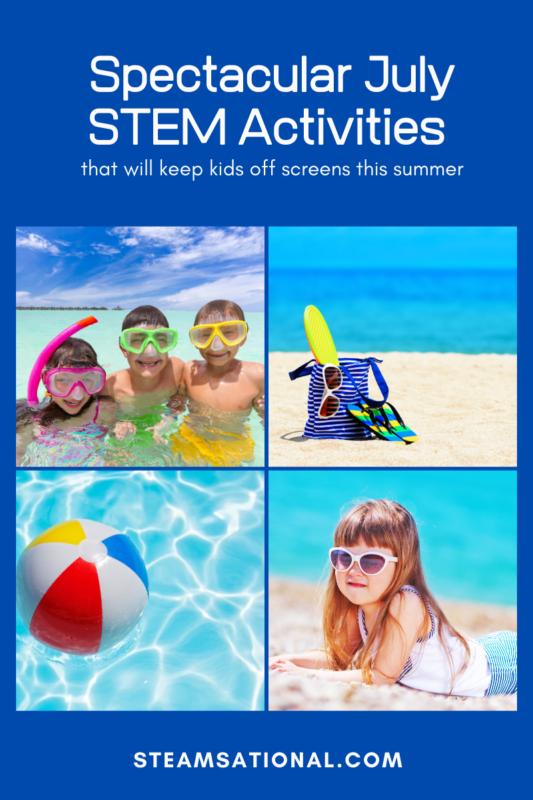 july stem activities