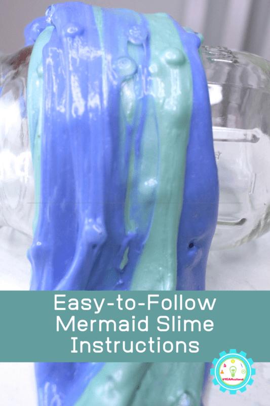 mermaid slime instructions