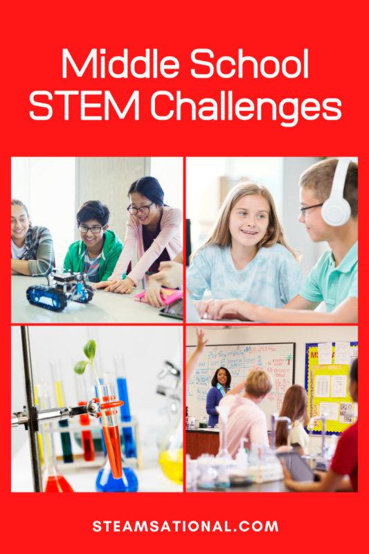 middle school stem challenges