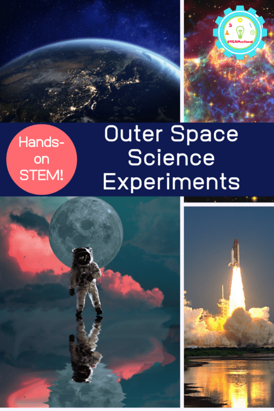 If your kids love space, then you will have tons of fun completing these outer space science experiments this year. These space science activities for kids are suitable for the classroom and home.