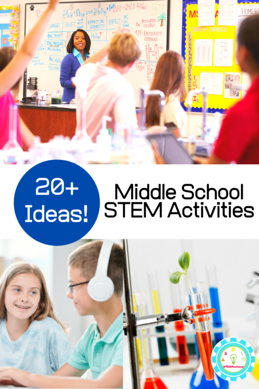 stem challenges middle school