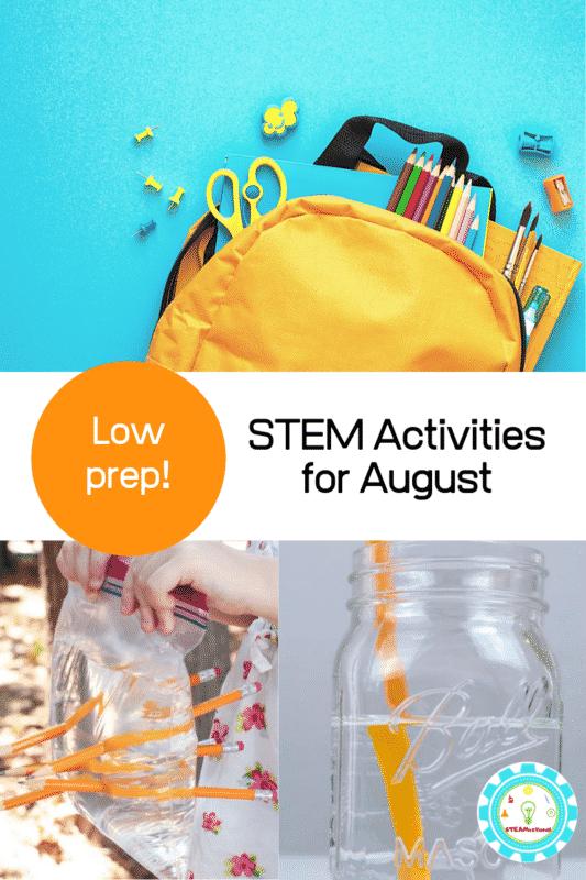 august stem activities