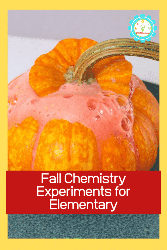 elementary chemistry experiments fall