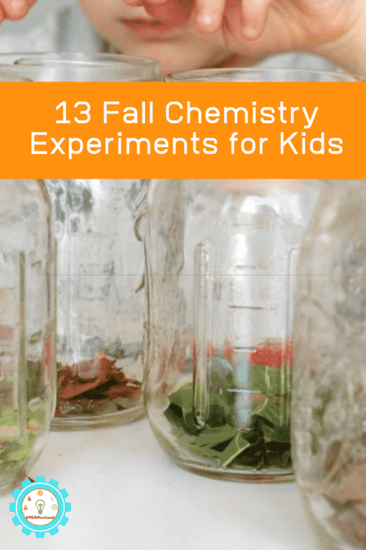 If you love fall, and you love chemistry, you'll love these fall chemistry experiments for kids!