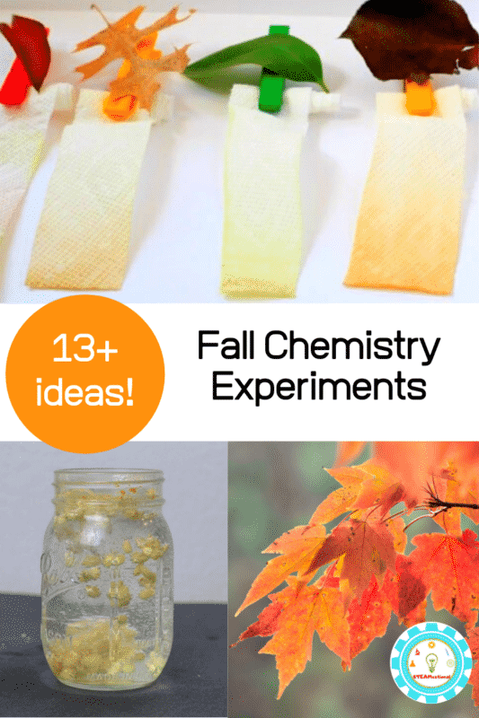 fall chemistry experiments for elementary