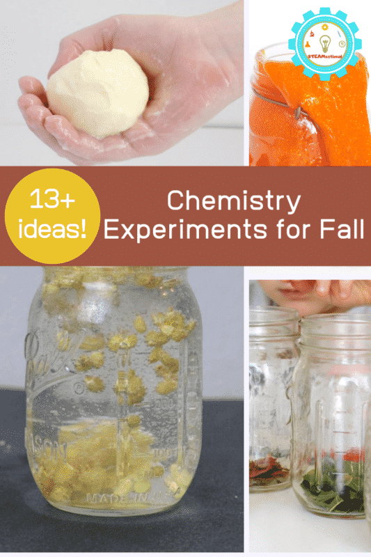fall chemistry experiments for middle school