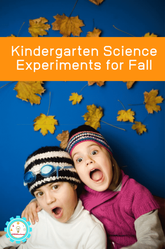 fall science kindergarten