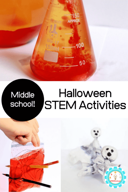 halloween stem activities middle school