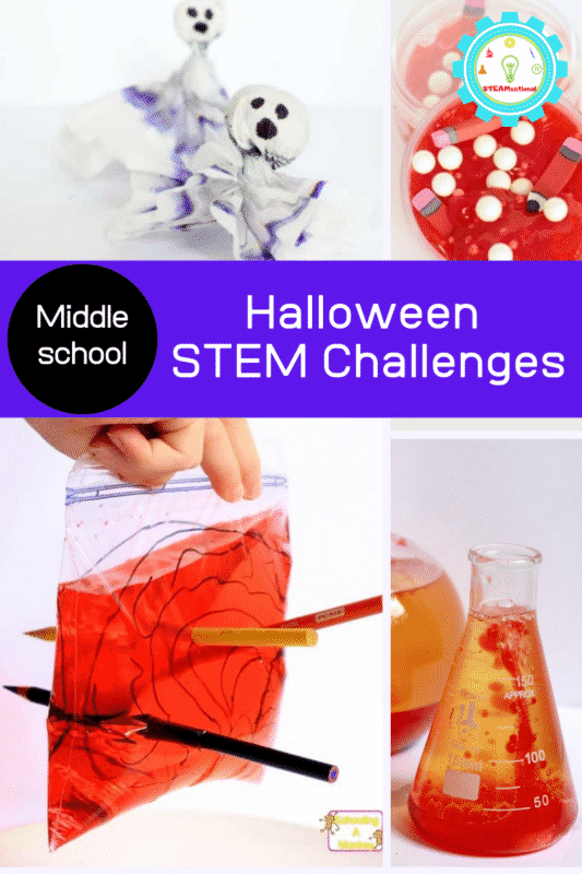 halloween stem challenge middle school