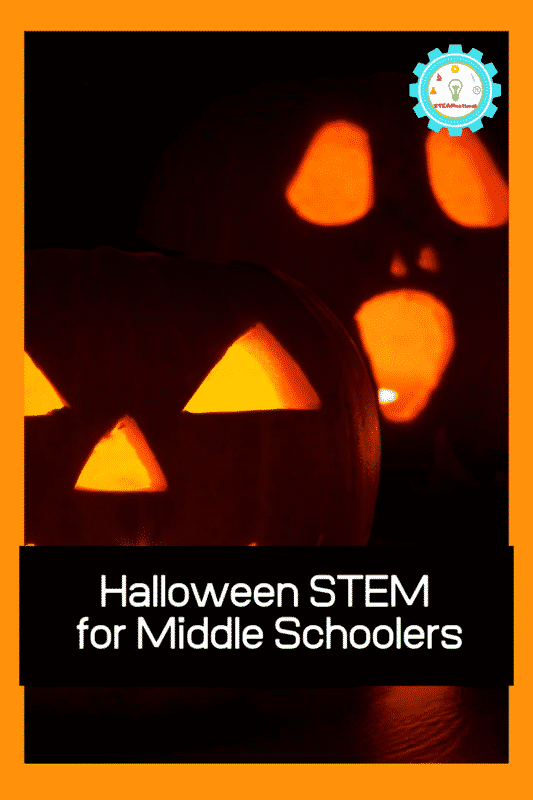 middle school halloween stem activities