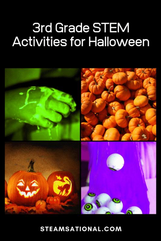 3rd grade stem activities for halloween