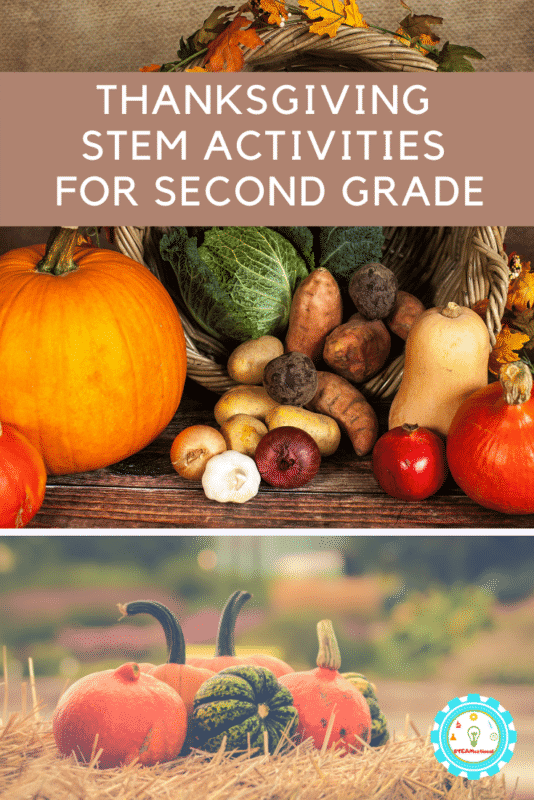 Thanksgiving STEM Activities for second Grade