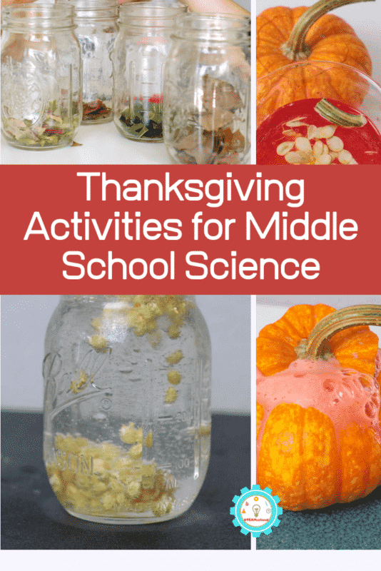 Thanksgiving activities for middle school science