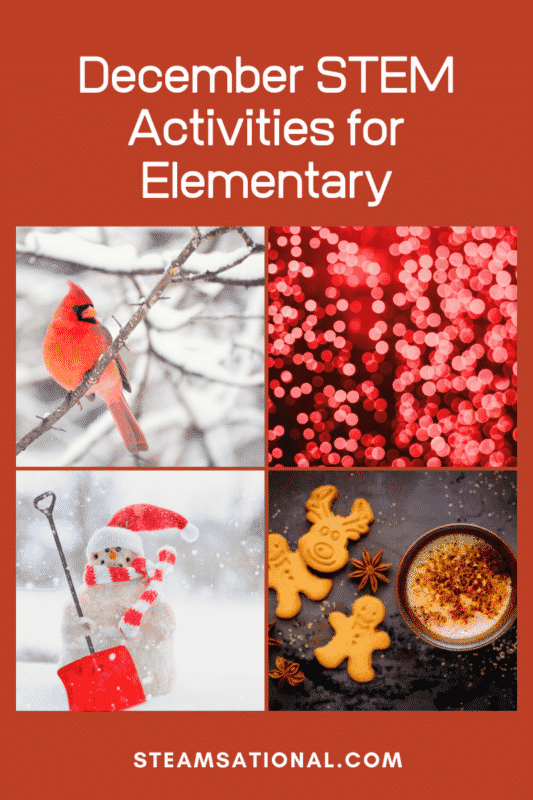 december stem activities for elementary