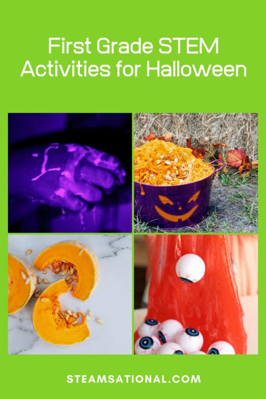 first grade stem activities for halloween