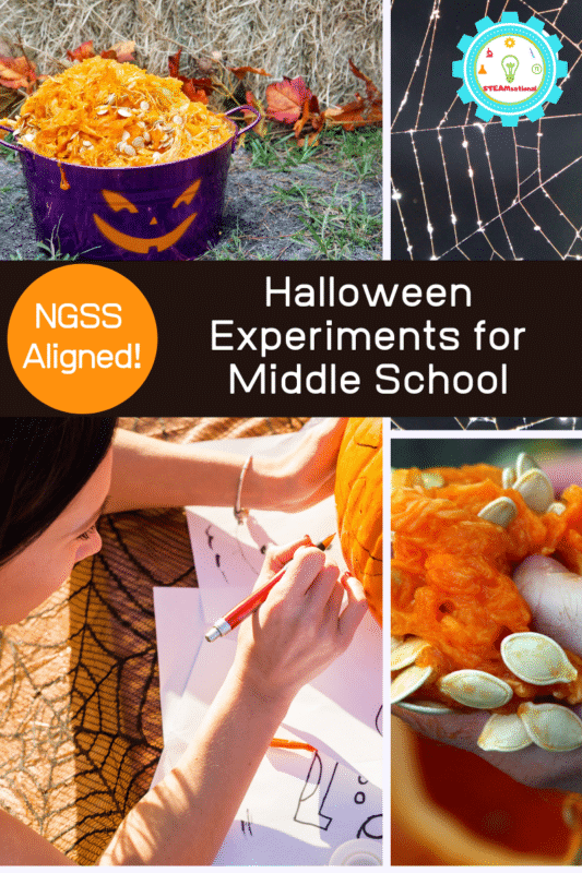 halloween experiments for middle school