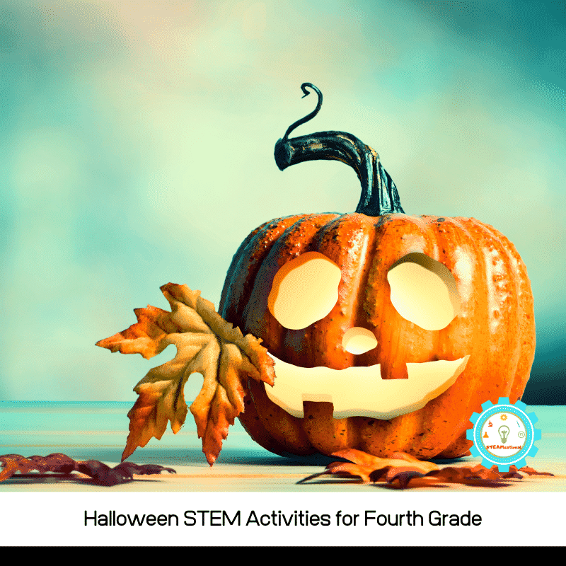 Halloween STEM activities for 4th grade are a fun way for 4th graders to explore science, technology, engineering, and math during Halloween!