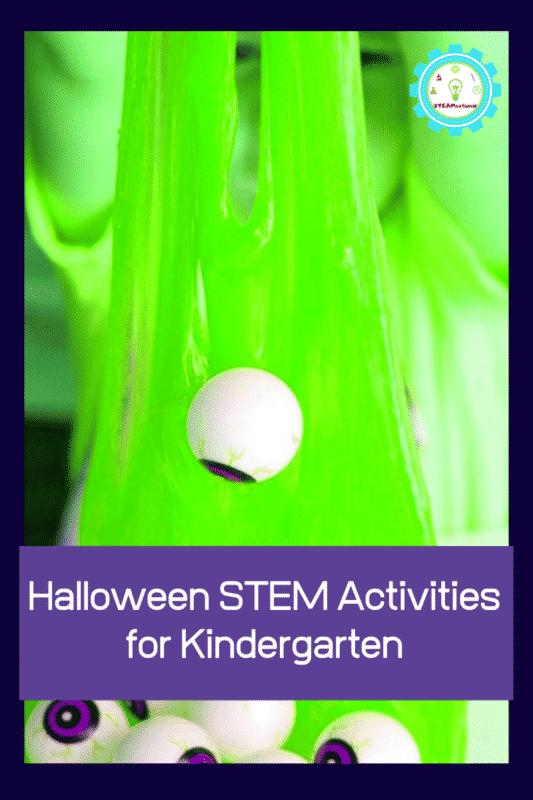 halloween stem activities for the kindergarten classroom
